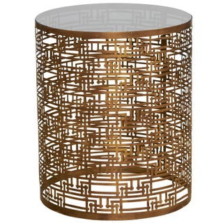 Modern Geometric Side Table
