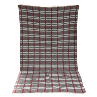 Danish Tartan double sided kelim rug
