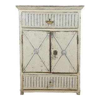 Early 19th Century Trompe L'oeil Cabinet