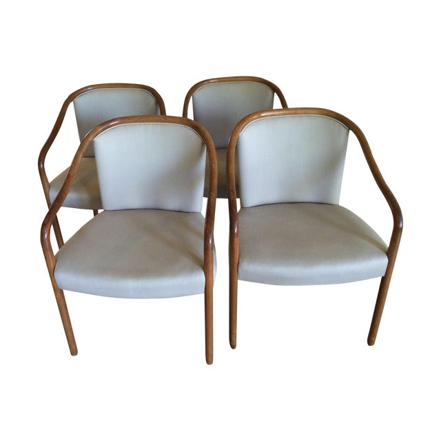 Ward Bennett Club Chairs - 4 - Image 1 of 5