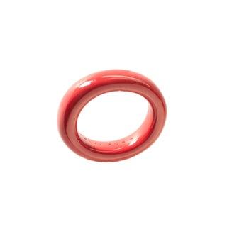 Trina Turk Resin Cranberry Bangle Bracelet
