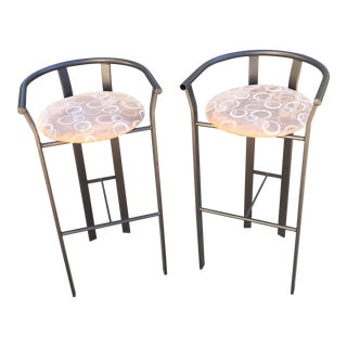 Modern Bar Stools - A Pair