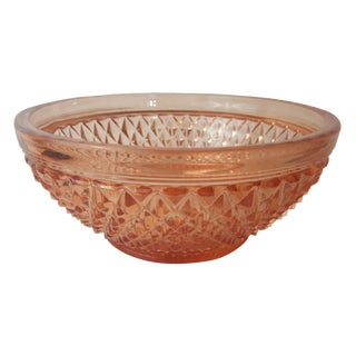 Cambridge Stratford Peach Blo Bowl