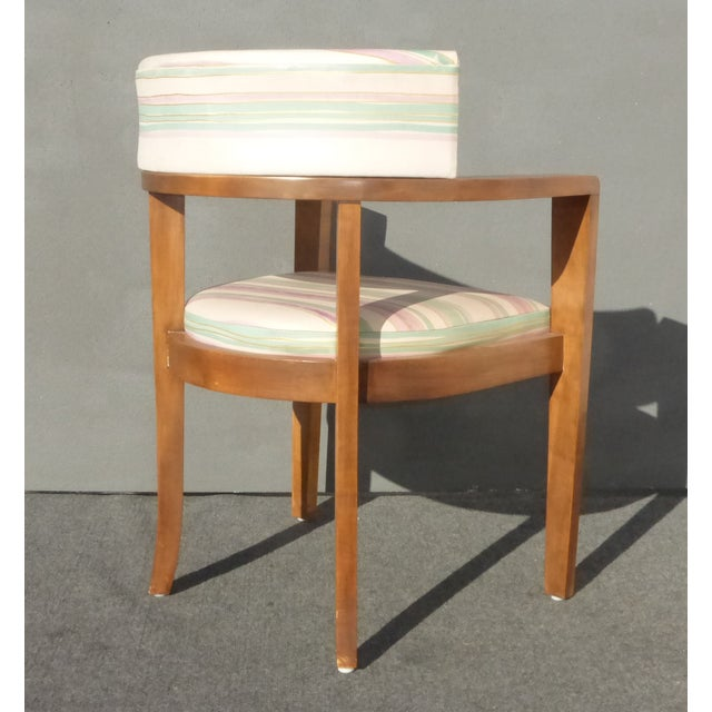 Mid-Century Danish Modern Leather Arm Chairs - 4 - Image 8 of 11