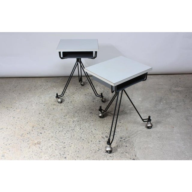 Pair of Eliot Noyes IBM Tables - Image 2 of 10