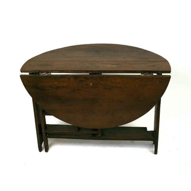 Shanxi Elmwood Round Folding Coffee Table Chairish