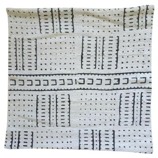 White African Mudcloth Pillow Cover