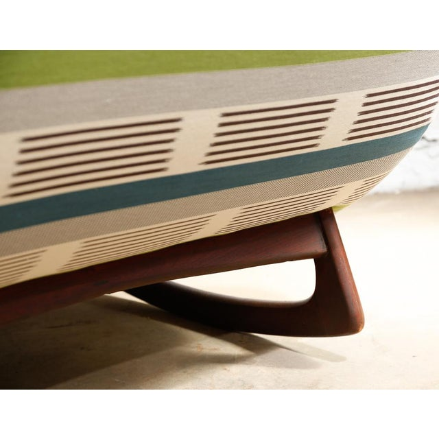 "Adrian Pearsall ""Wave"" Chaise Rocker - Image 7 of 11"
