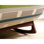 """Image of Adrian Pearsall """"Wave"""" Chaise Rocker"""