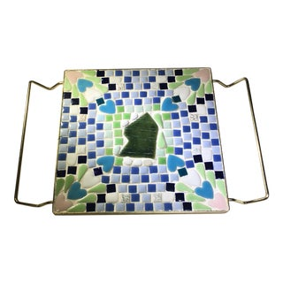 Vintage Mosaic Tile Trivet