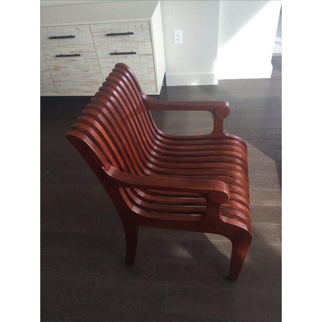 Mid-Century Molded Chairs - A Pair - Image 3 of 4