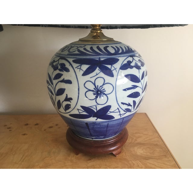 Chinoiserie Ginger Jar Lamps - A Pair - Image 6 of 8