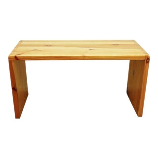 Charlotte Perriand Bench for Les Arcs, circa 1960