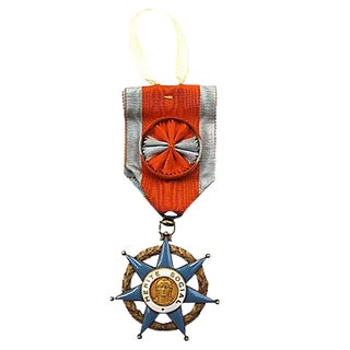 French Order of Social Merit Ornament