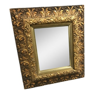 Leaf Carved Framed Mirror