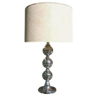 Kovacs-Style Mod Chrome Ball Lamp