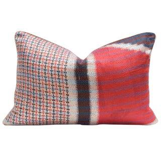 Bengal Silk Kantha Pillow