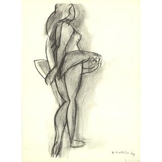 """Henri Matisse """"Ballet Dancer"""" 1951 Mourlot Lithograph"""