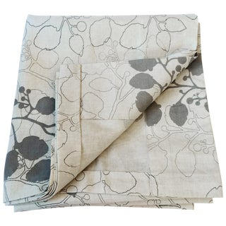 Leaf Print Linen