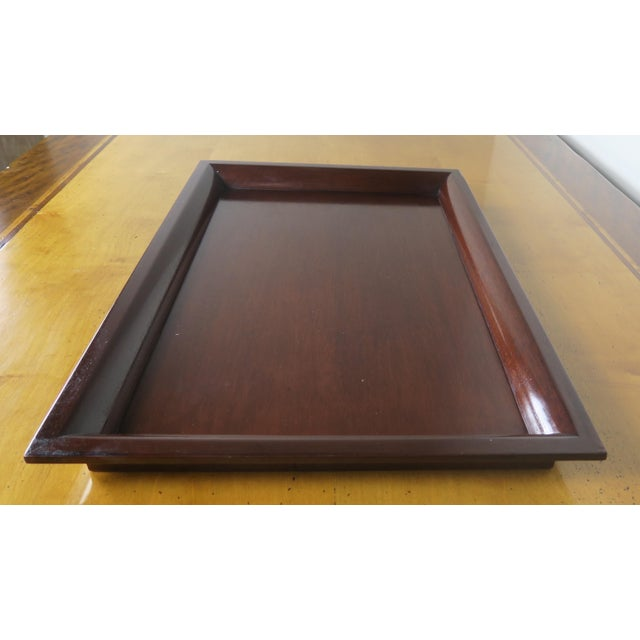 English Mahogany Tray - Image 3 of 7