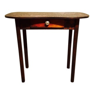 Antique Oak Entry Desk