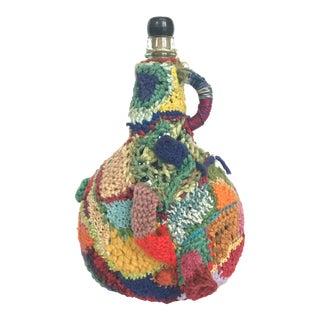 Boho Chic Yarn Art Bottle