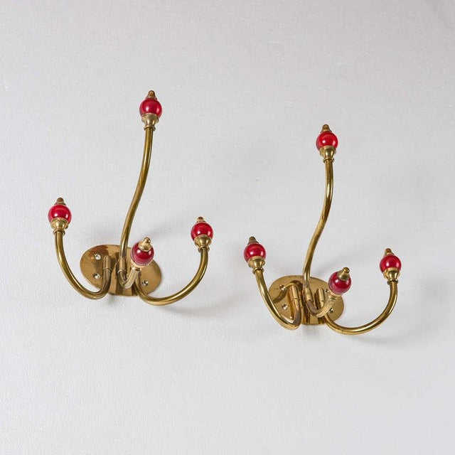 Image of Pair of Coat Racks by Luigi Caccia Dominioni for Azucena