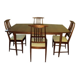 Kipp Stewart for Calvin Furniture Danish Modern Dining Set