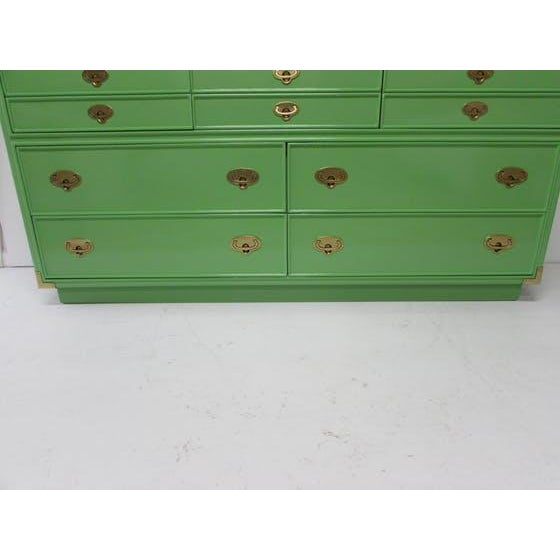 Lexington Campaign Chest of Drawers - Image 6 of 8