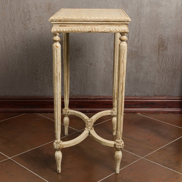 Image of Antique French Carved Side Table