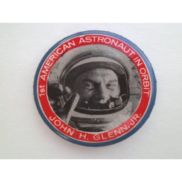 Image of Two Vintage Astronaut Pins - A Pair