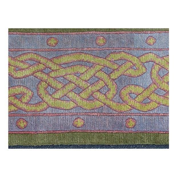 Nepalese Wool Rug- 6' x 9' - Image 7 of 11