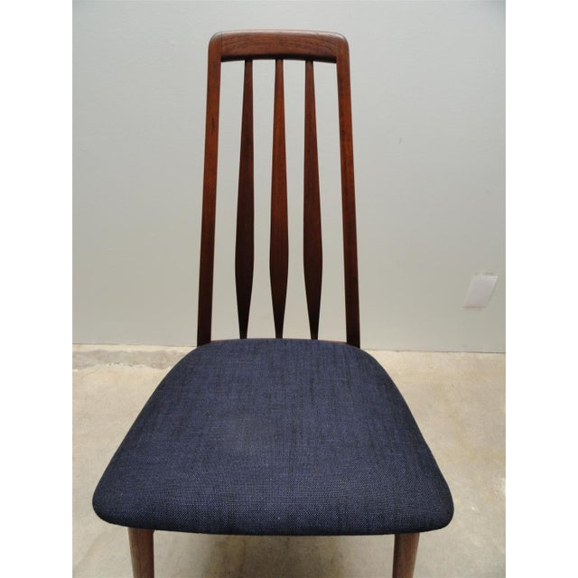 Danish Modern Eva Dining Chairs by Koefoeds Hornslet - Set of 4 - Image 8 of 10