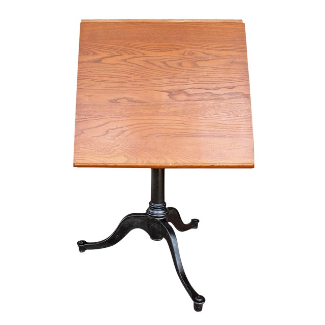 Image of Vintage Pine Drafting Table