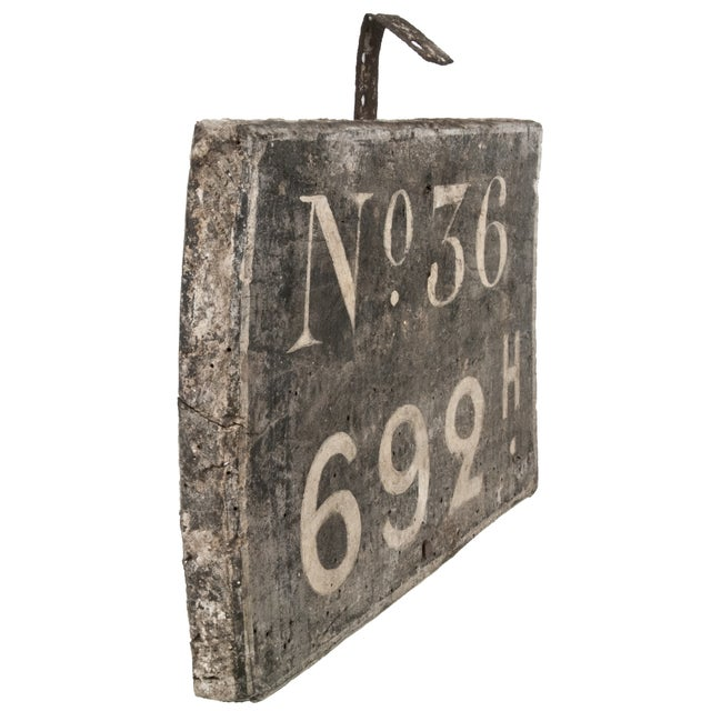 Image of French Wood Raliway Sign No. 36