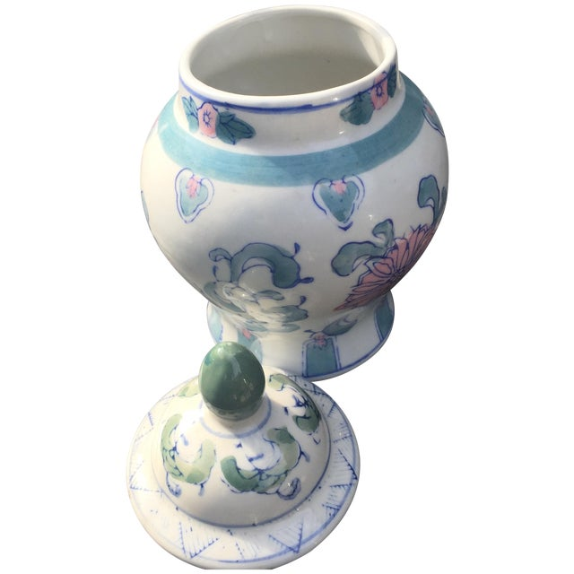 Image of Vintage Chinoiserie Ginger Jar
