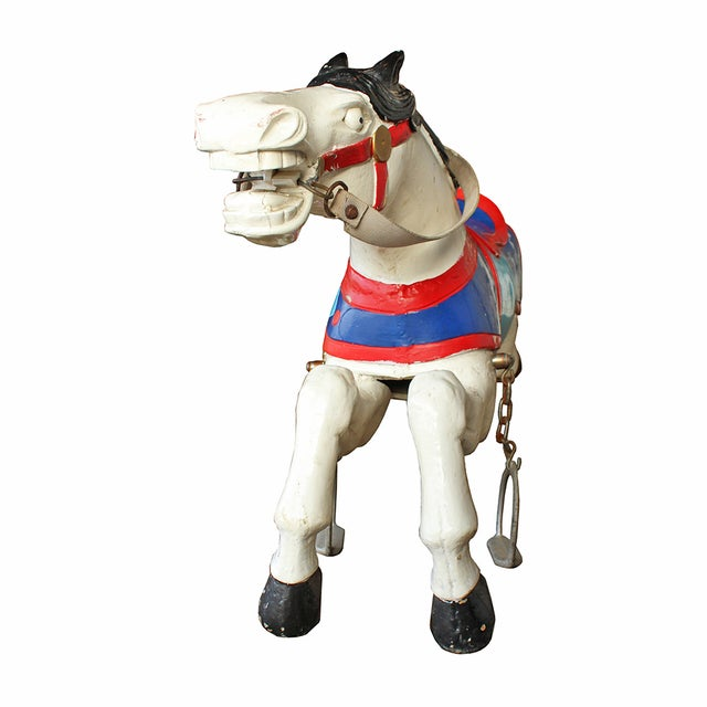 Parker Brothers Carousel Horse - Image 3 of 4