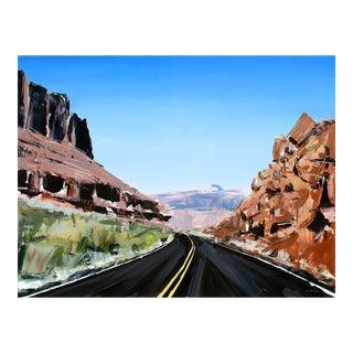 Original Utah Winding Road Painting by David Shingler