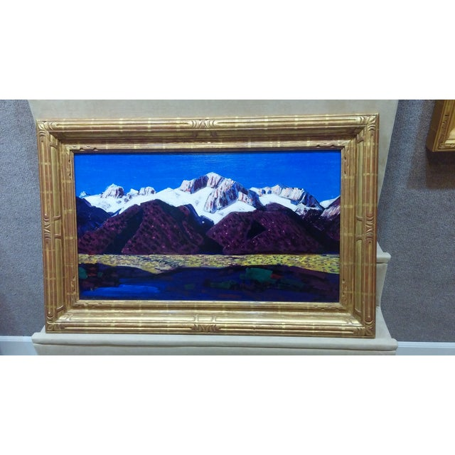"Conrad Buff Vintage ""Sierra Mountains"" Painting - Image 2 of 9"
