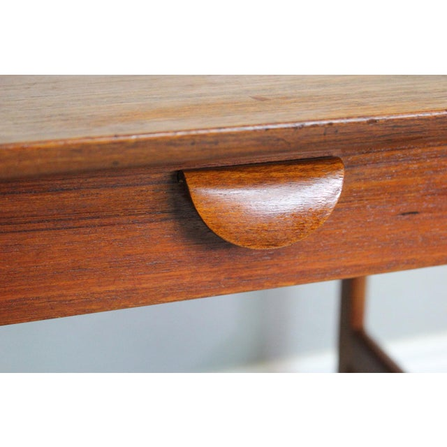 Image of George Tanier Teak Side Table by P. Jeppeson