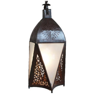 Marrakesh Frosted Lantern