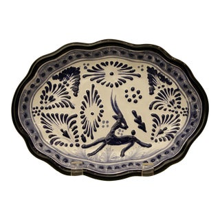Handmade Pottery Dish from Mexico