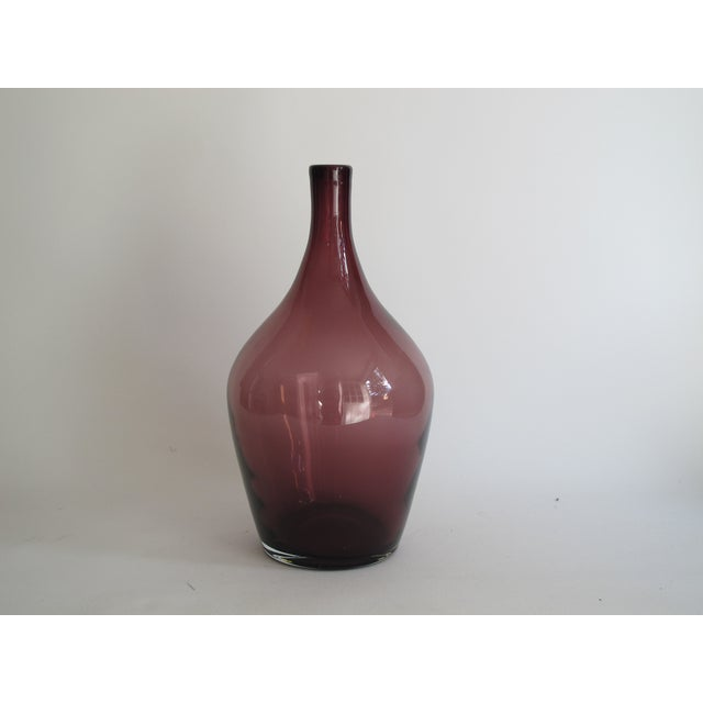 Image of Purple Demilune Bottle
