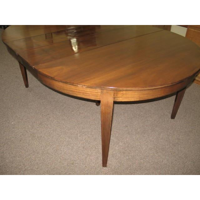 Antique Extending Mahogany Dining Table - Image 4 of 11