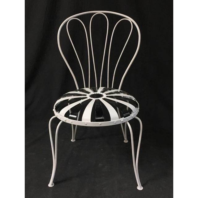 Francois Carre Art Deco Patio Chairs - Image 2 of 5