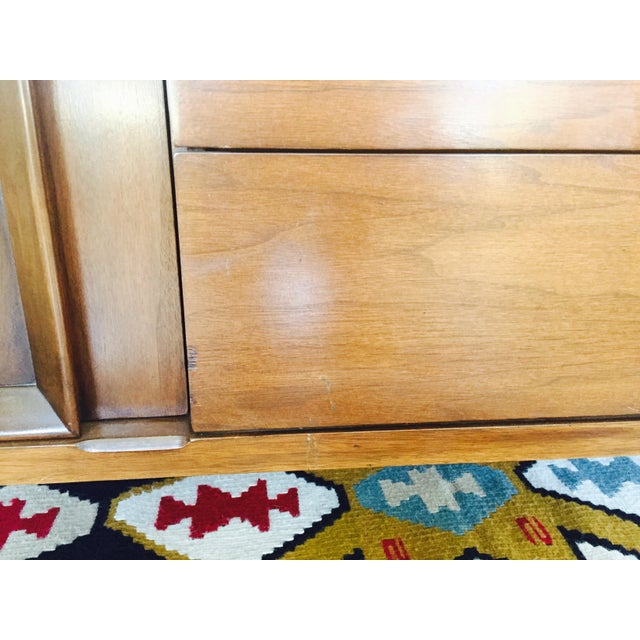Vintage Mid Century Walnut Hutch - Image 9 of 10