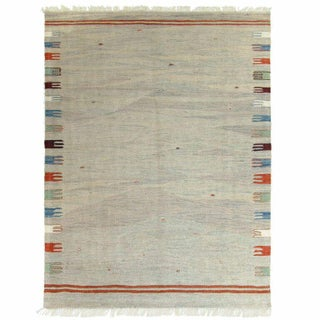 Rug & Relic Light Yeni Kilim - 3'4'' x 4'11''