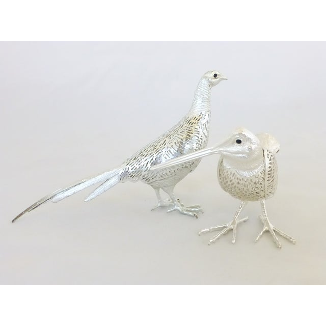 Christofle Silverplated Pheasant & Woodcock - Image 3 of 6