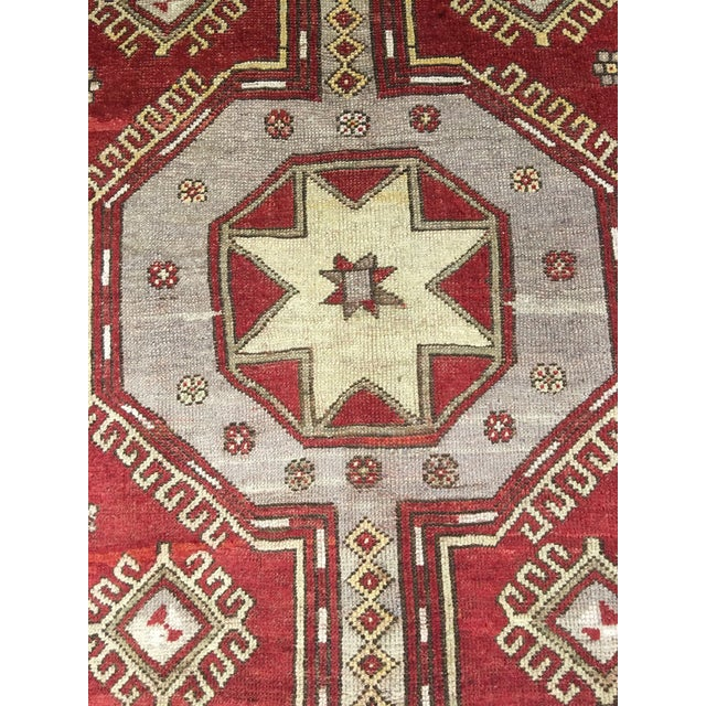 "Vintage Turkish Medallion Runner - 5'x11'6"" - Image 5 of 9"