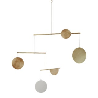 Brass Geometric Mobile